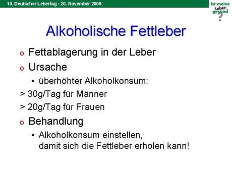 alkoholische fettleber symptome